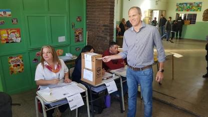 ALEJANDRO PALMIERI, elecciones 2019