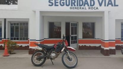 secuestro, general roca, moto