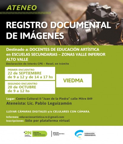 ateneo, registro documental de imagenes