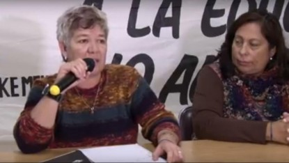 Unter, CONFERENCIA DE PRENSA, Magda Gigante, Cecilia Altamirano