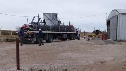 camion materiales construcción