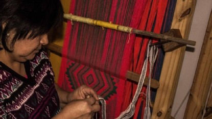 telar, mapuche