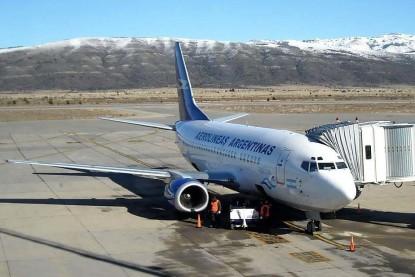 aerolineas argentinas, bariloche, calafate, mendoza