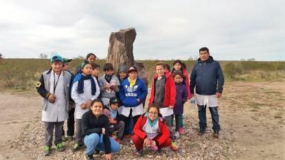 alumnos, valcheta, bosque petrificado