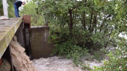 pedro pesatti, desagües pluviales