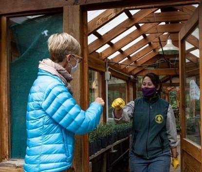 programa de viveros y centros botánicos