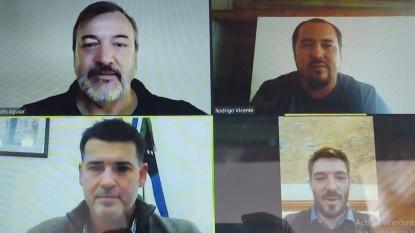 rodolfo aguiar, Rodrigo Vicente, juan jose deco, Rodrigo Buteler