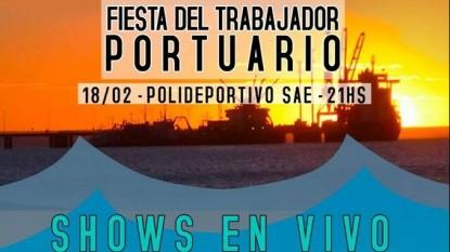 fiesta del trabajador portuario