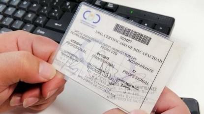 certificado discapacidad