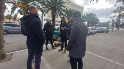 gaston gutierrez, Marina Bandres, Asociación Amigos de Árbol