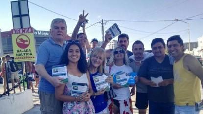 Las Grutas, campaña, partido rio