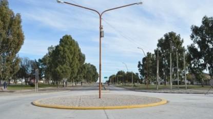 PATAGONES, rotonda, Boulevard Moreno e Irigoyen