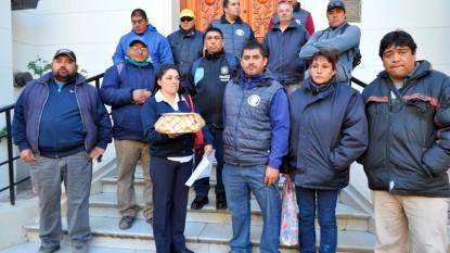 UOCRA viedma torta municipalidad