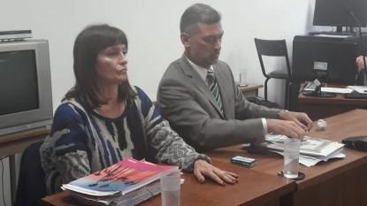 fabricio brogna, Patricia Arias