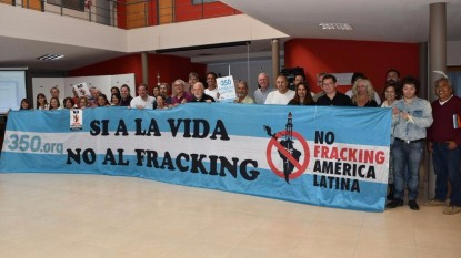 bandera no fracking consejo deliberante