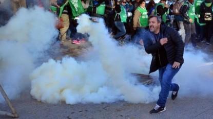 rodolfo aguiar, gas lacrimogeno, gases