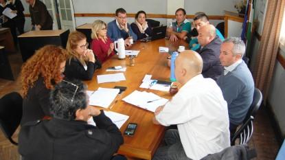 san antonio, Concejo Deliberante, intercomisiones