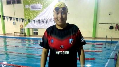 deportivo viedma, natación, iara arias
