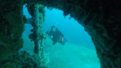 mariana rojamar, Las Grutas, parque subacuatico