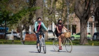 barbijos, bicicletas