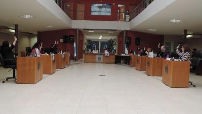 Concejo Deliberante, sesion