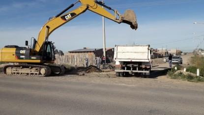 barrio el progreso, canal, limpieza