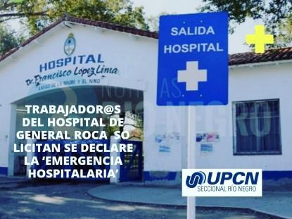 general roca, hospital