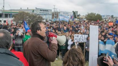 Martin Soria, manifestacion, general roca