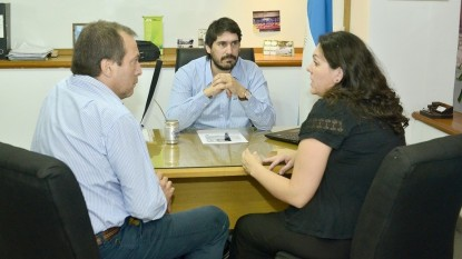 nicolas land, Paola Bufano, Javier Saenz Core