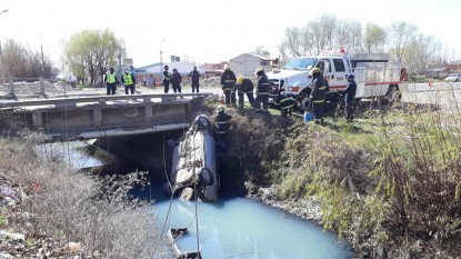 general roca, ACCIDENTE, canal de riego
