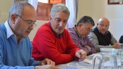 JORGE ISAAC, JOSE LUIS ZARA, DANIEL PAREDES, AROL SANTA MARIA, licitacion