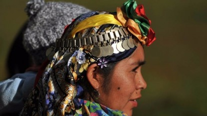 mujer, mapuche