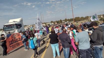 asspur, fesprosa, puente basilio villarino, PROTESTA, manifestacion