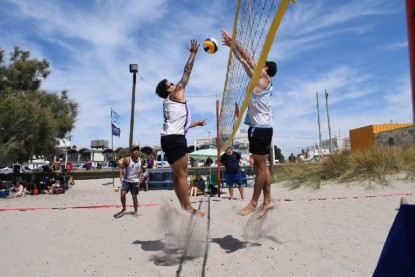 beach voley, el condor