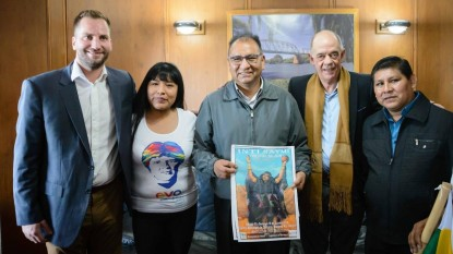 MARIO ALBERTO FRANCIONI, bolivia, leandro massaccesi, embajador, Santos Javier Tito Véliz