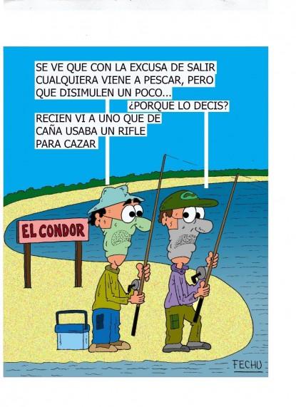 pescadores, humor