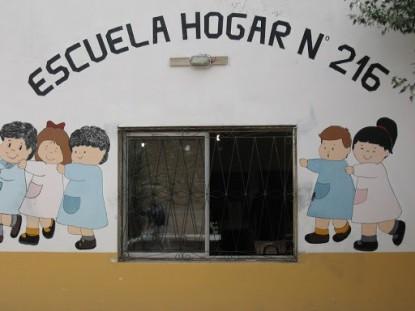 escuela hogar 216, colan conhue