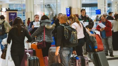 bariloche, aeropuerto, TURISTAS