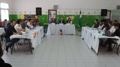 viedma, Concejo Deliberante, sesion, escuela 7