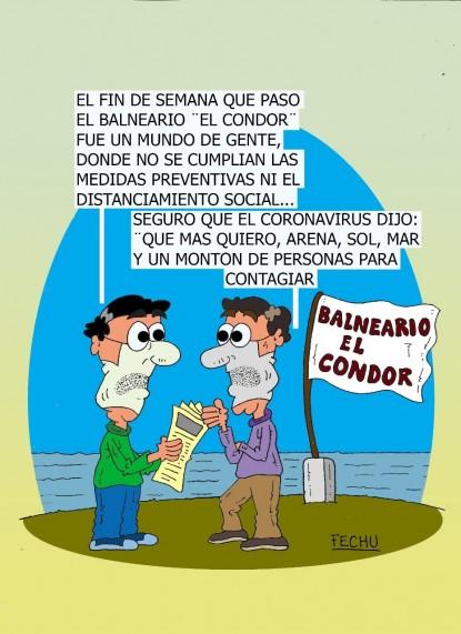 humor, el condor, Coronavirus