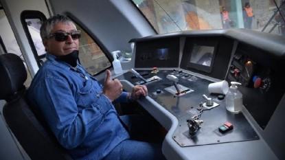 hector laurin, tren patagonico