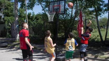 deportivo viedma, basquet callejero