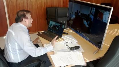 Daniel Tobares, videoaudiencia