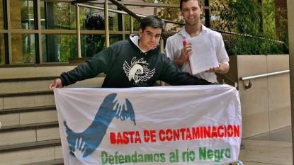Montecino Odarda contaminacion rio