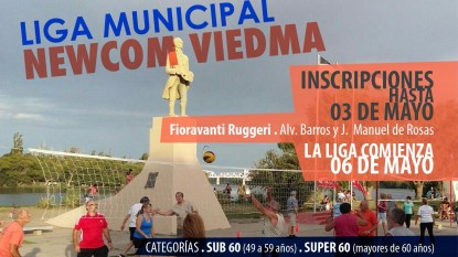 liga municipal newcom viedma