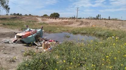 basura, PATAGONES, VILLA LINCH, AGUAS SERVIDAS