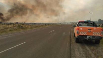 incendios, ruta 5