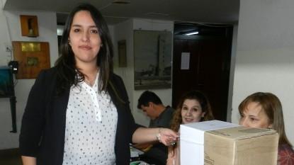 sierra grande, elecciones, Damaris Reyes
