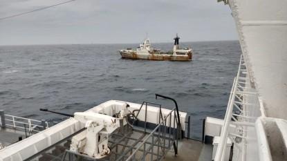 barco, pesca ilegal