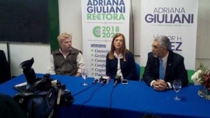 Adriana Giuliani, Víctor Baez